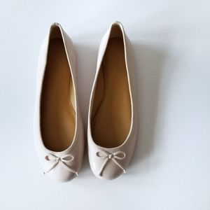 J. Crew | Coco Leather Ballet Flats